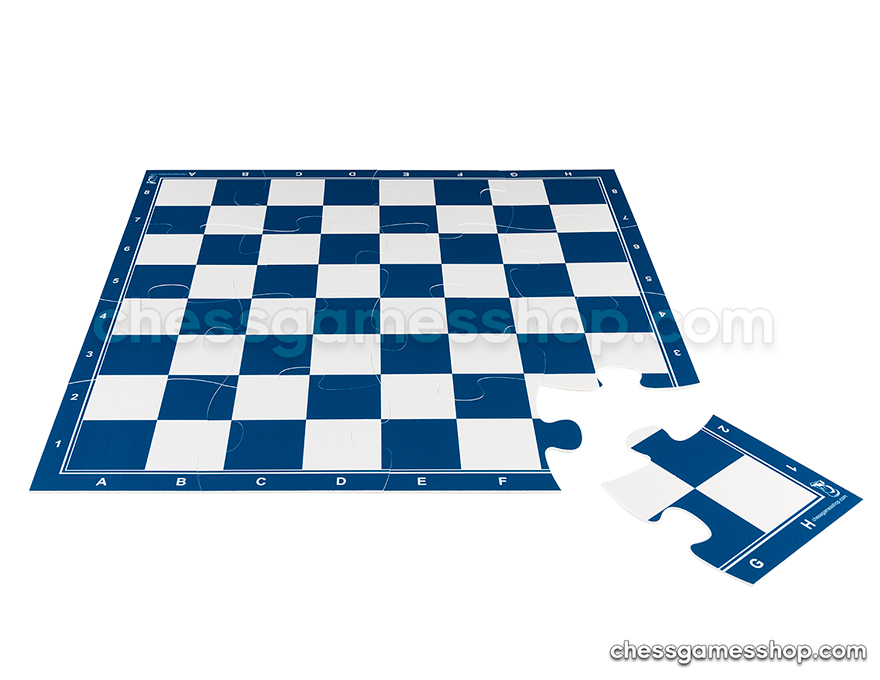 JigChess board - 4x4 <br> 57 mm - BLUE