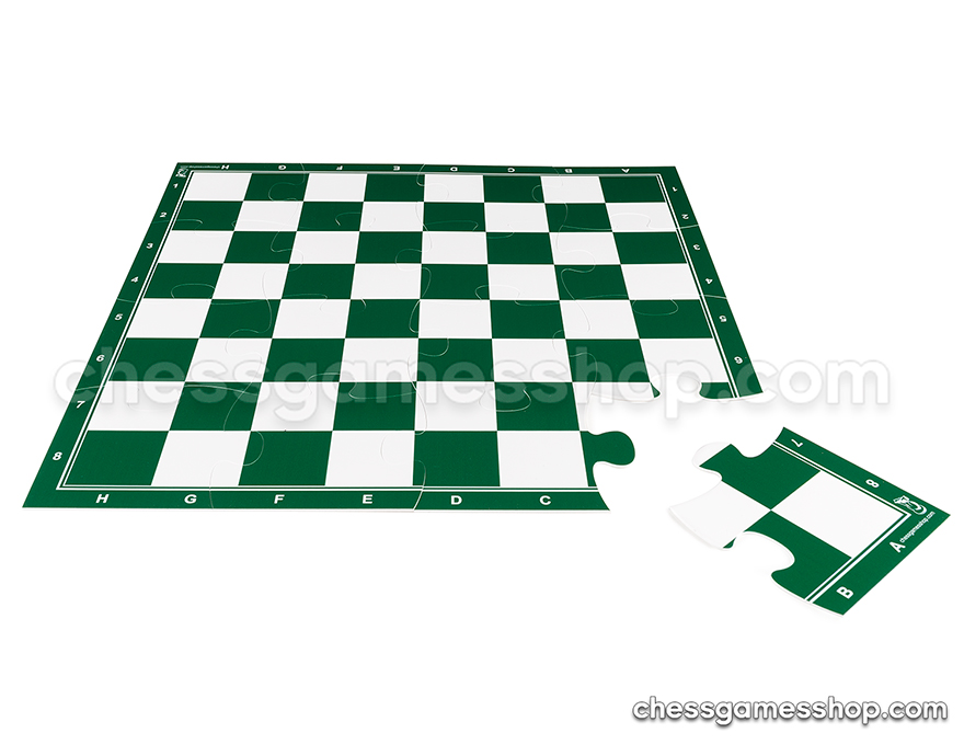 JigChess board - 4x4 <br> 57 mm - GREEN