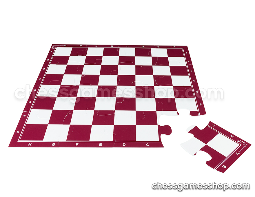 JigChess board - 4x4 <br> 57 mm - RED