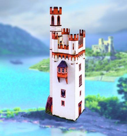 Mišji grad 3D  sestavljanka karton