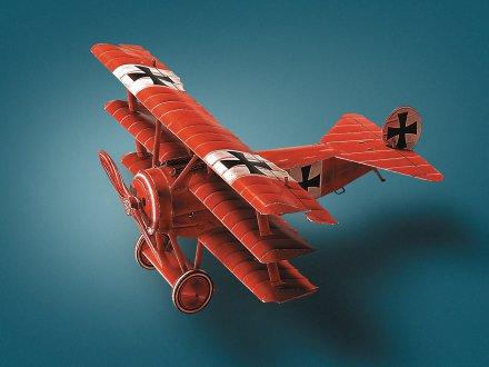 Rdeči baron 3D sestavljanka karton