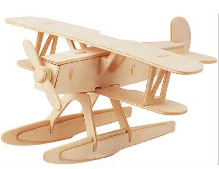 Lesena 3D sestavljanka <br> Vodno letalo