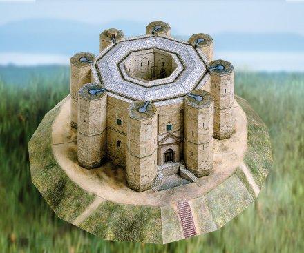 Castel Del Monte 3D sestavljanka karton