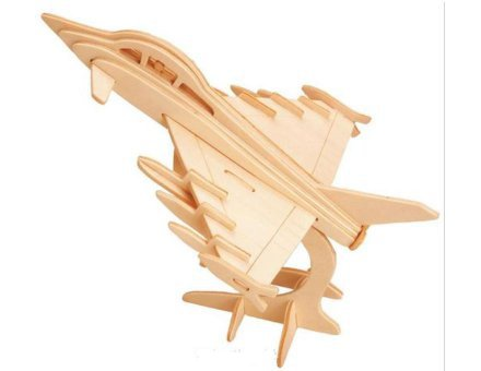 Lesena 3D sestavljanka <br>Bojno letalo