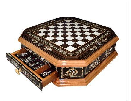 Šahovnica s predalom  <br> Oktagon velika 2