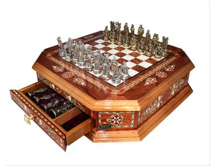 Šahovnica s predalom  <br> Oktagon velika 6