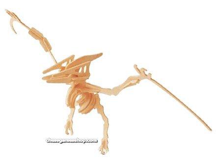 Lesena 3D sestavljanka Pteranodor