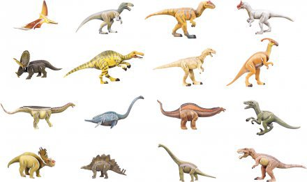 Dinozavri 3D sestavljanka karton