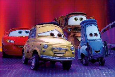 Mini Avto Disney Sestavljanka 1