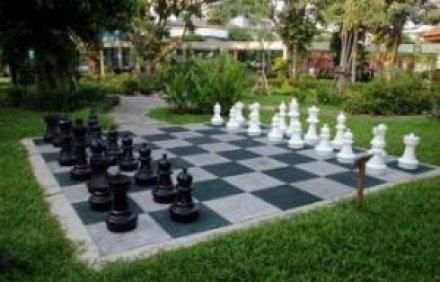 Orjaške šahovske figure | vrtni šah