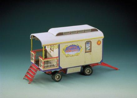 Cirkus prikolica 3D sestavljanka karton
