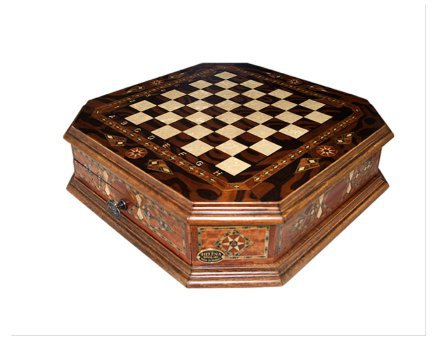 Šahovnica s predalom  <br> Oktagon velika 5
