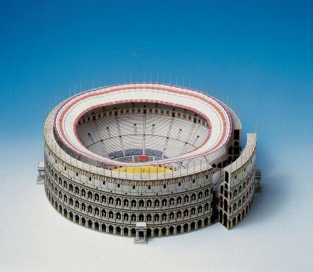 Kolosej 3D sestavljanka karton