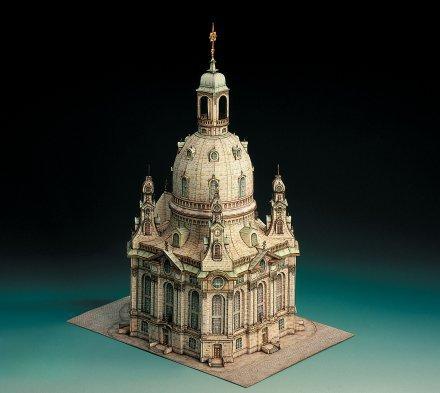 Frauenkirche Dresden 3D  sestavljanka karton
