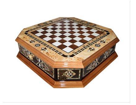 Šahovnica s predalom  <br> Oktagon velika 1