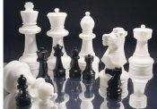 Set treh pokalov Šahovskih figur