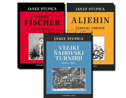 Janez Stupica - komplet knjig