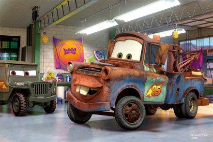 Mini Avto Disney Sestavljanka 3
