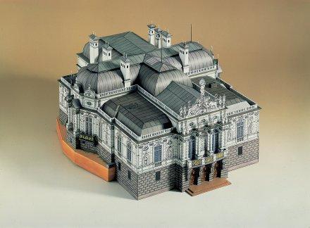 Linderhof 3D sestavljanka karton