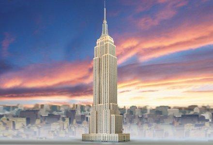 Empire State Bulding 3D sestavljanka karton