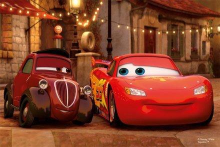 Mini Avto Disney Sestavljanka 4
