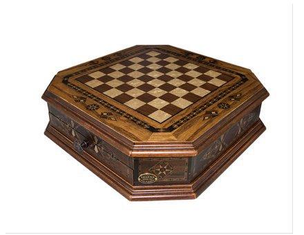 Šahovnica s predalom  <br> Oktagon velika 7