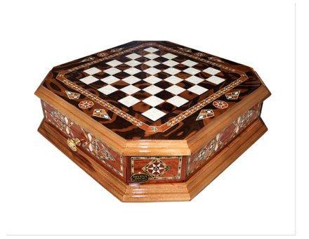 Šahovnica s predalom  <br> Oktagon velika 4