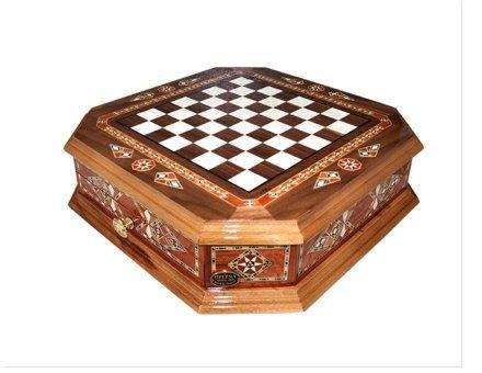 Šahovnica s predalom  <br> Oktagon velika 3